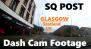 Car Dash Driving Through Glasgow East End, South Side