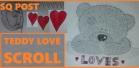 Teddy Love Scroll Cover