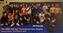 Ultra MMA Training Group Photo 23-March-2018 The Griphouse Gym Glasgow